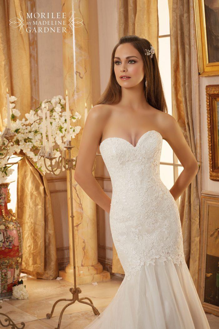 Mori lee 5475 wedding dress