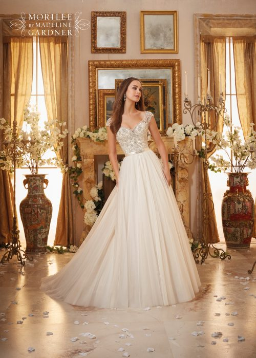 Mori lee 5476 wedding dress