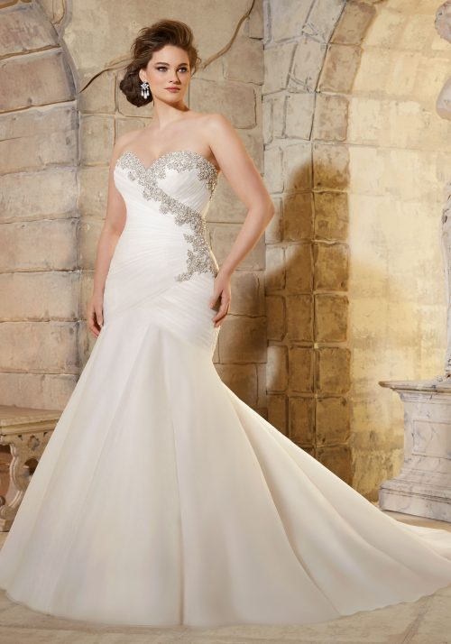 Mori lee 3187 wedding dress