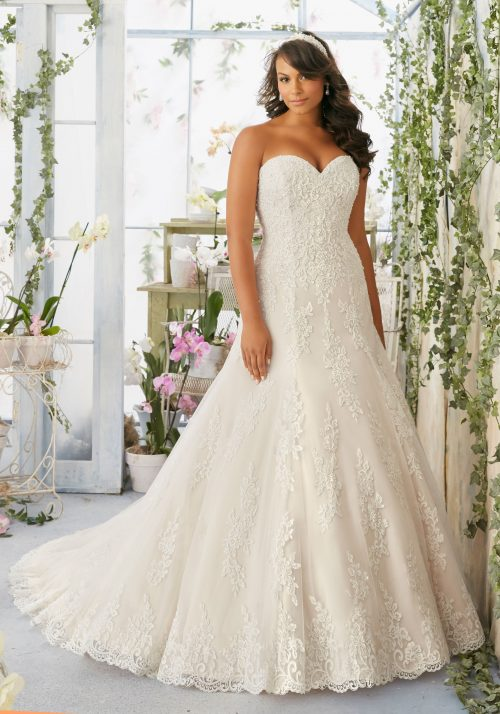 Mori lee 3196 wedding dress