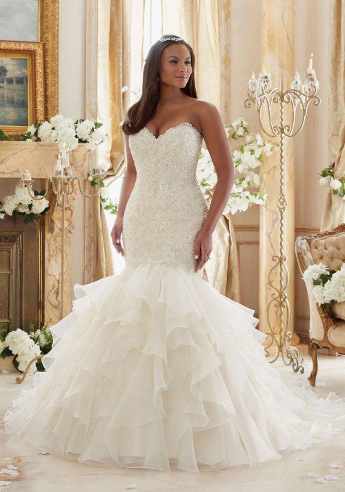 Mori lee 3201 wedding dress