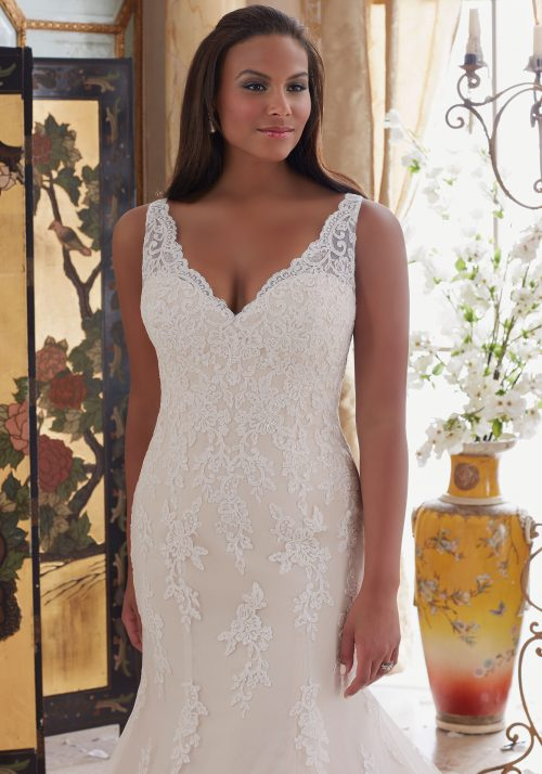 Mori lee 3202 wedding dress