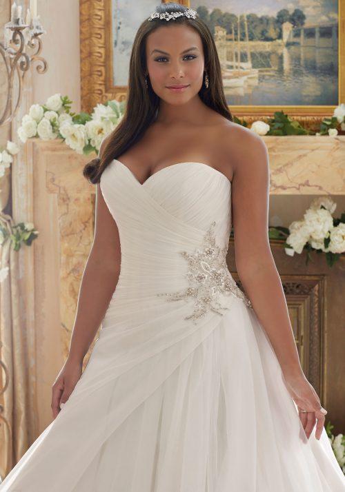 Mori lee 3203 wedding dress
