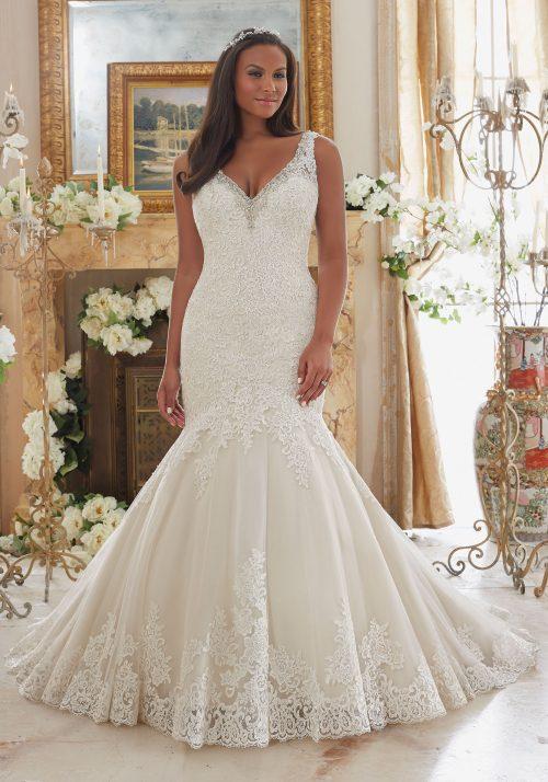 Mori lee 3204 wedding dress