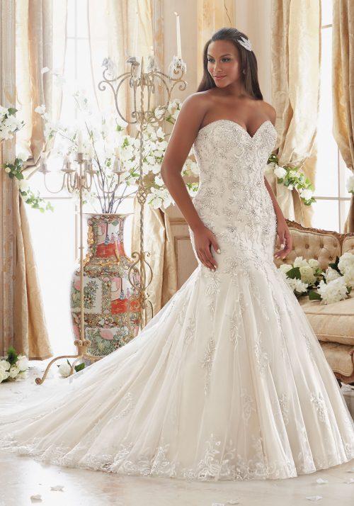 Mori lee 3205 wedding dress