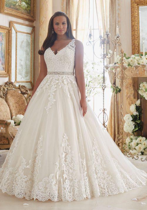 Mori lee 3208 wedding dress