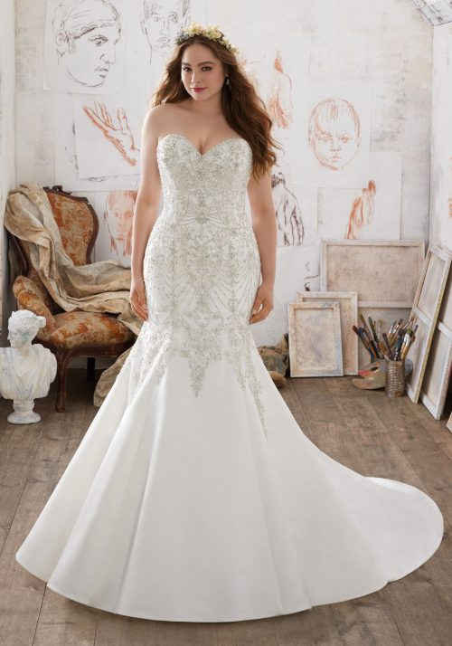 Mori lee Mischa 3218 wedding dress