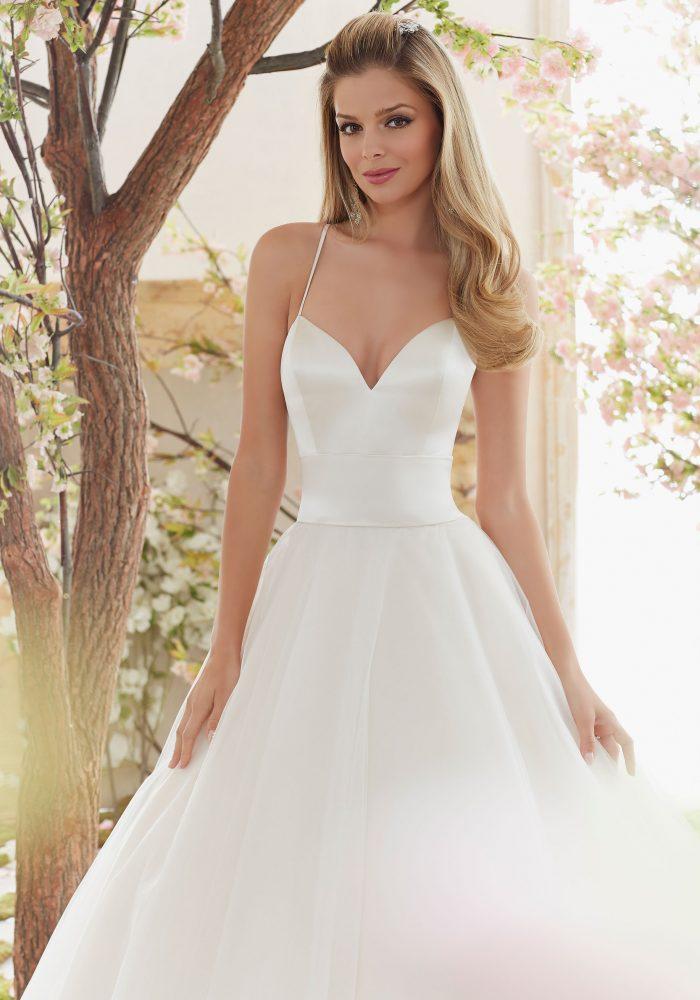 Mori lee 6831 wedding dress