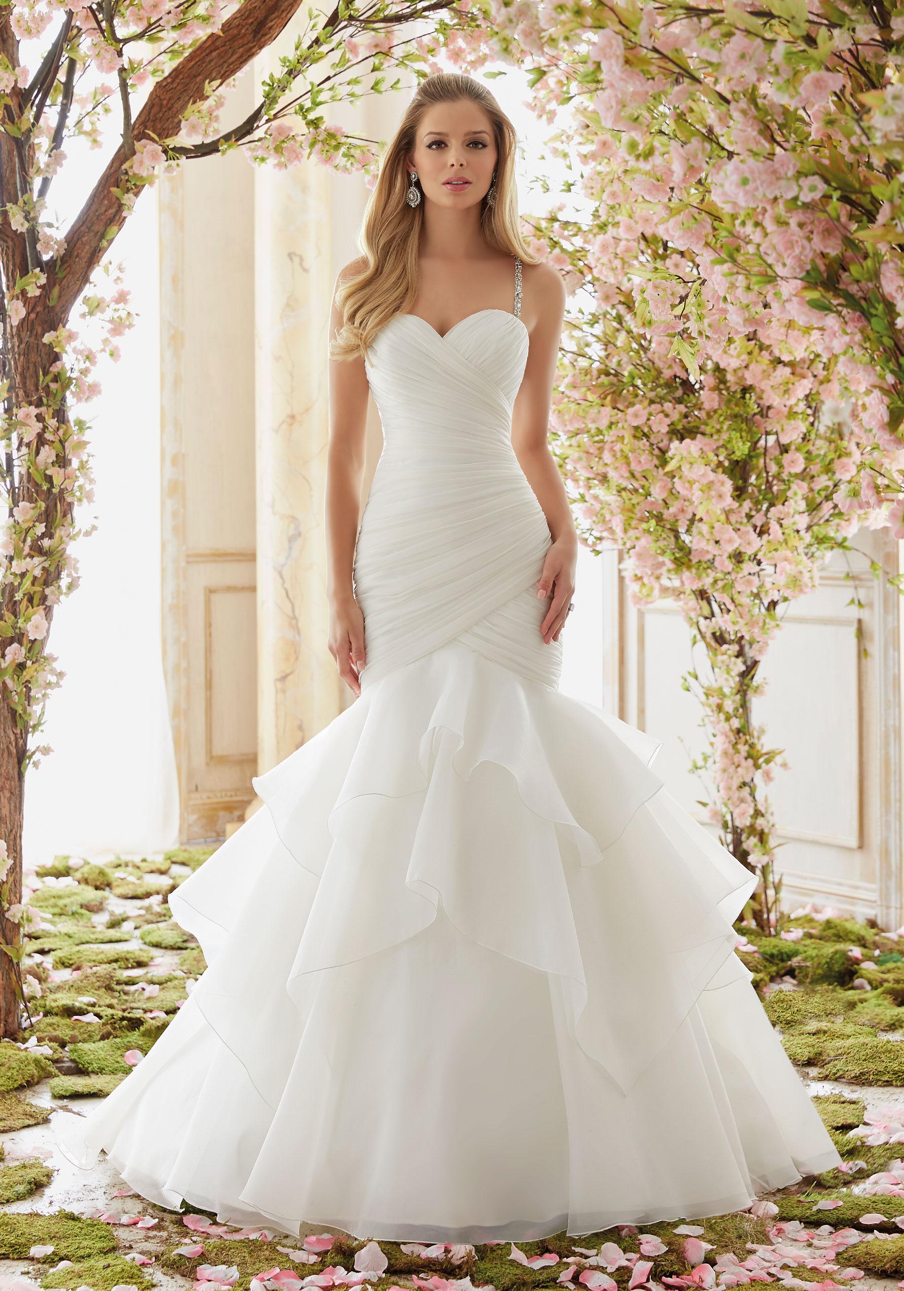 Wedding Dresses Mermaid.Mori Lee 6833 Wedding Dress
