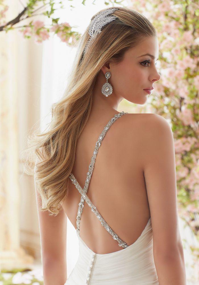 Mori lee 6833 wedding dress