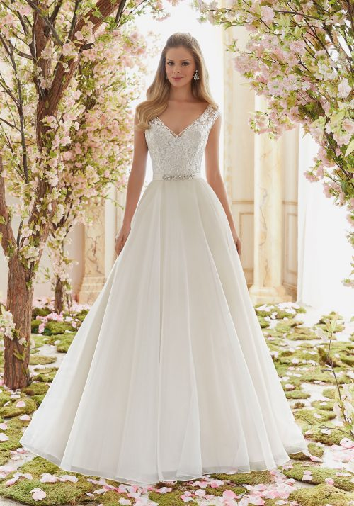 Mori lee 6836 wedding dress