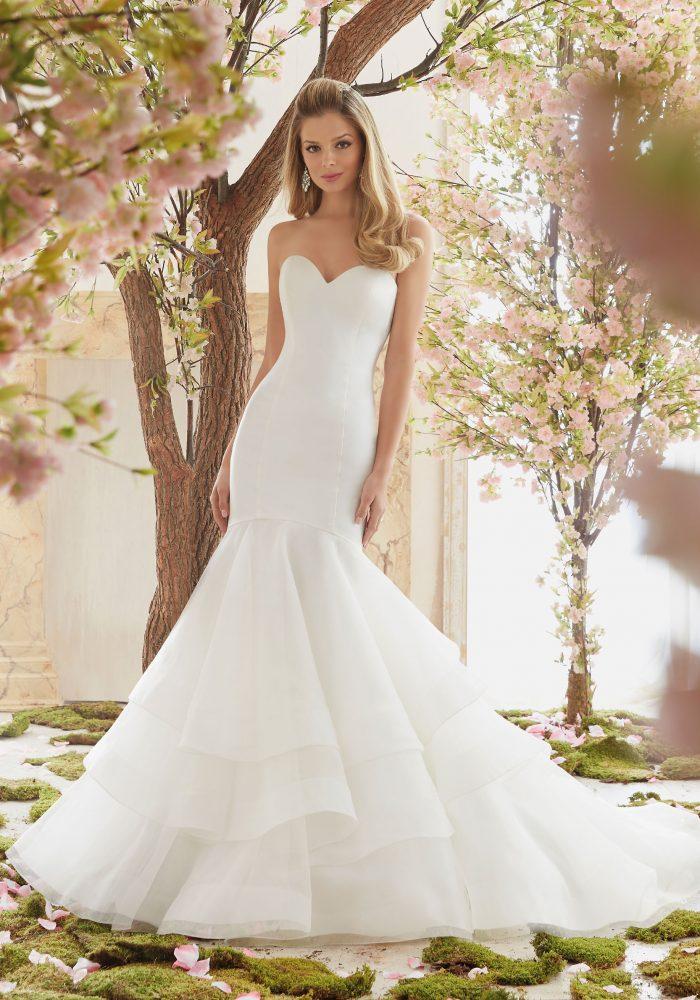 Mori lee 6837 wedding dress