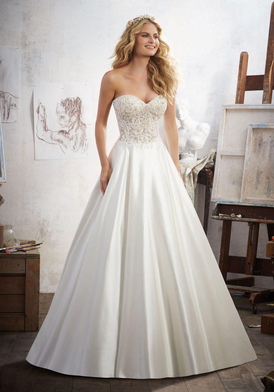 Mori lee 8114 Mara wedding dress - Catrinas Bridal