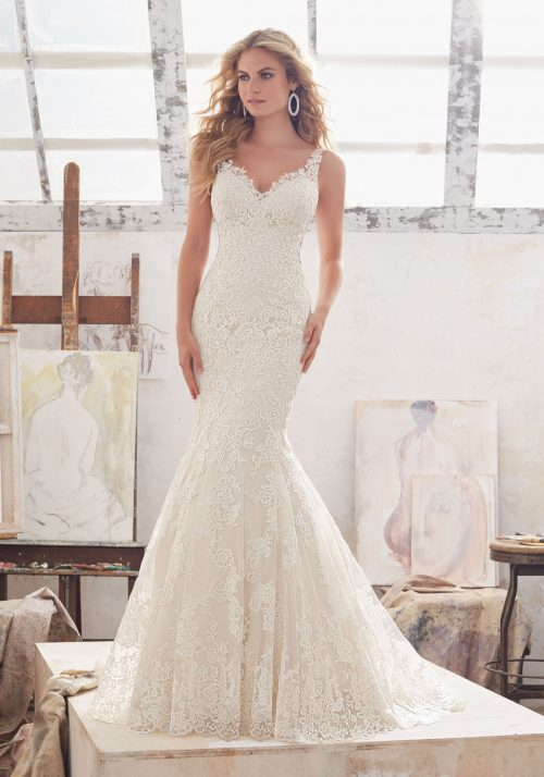 Mori lee 8115 Marcelline wedding dress