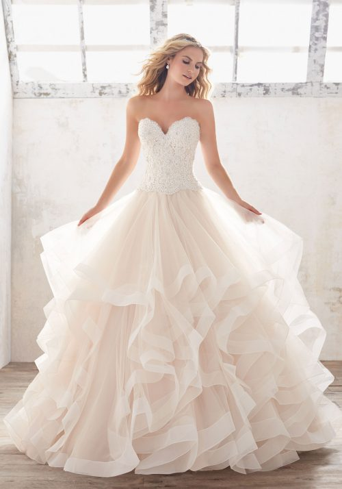 Mori lee 8116 Marcia wedding dress