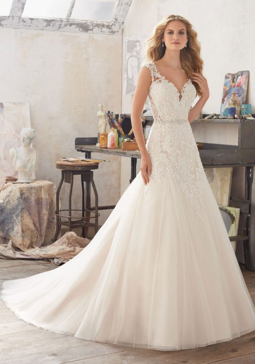 Mori lee 8117 Marciana wedding dress