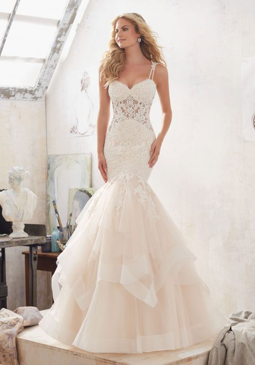 Mori lee 8118 Marciela wedding dress