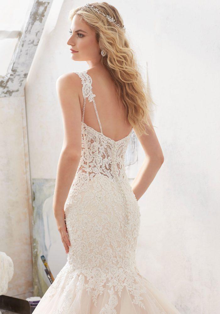 Mori lee 8118 Marciela wedding dress