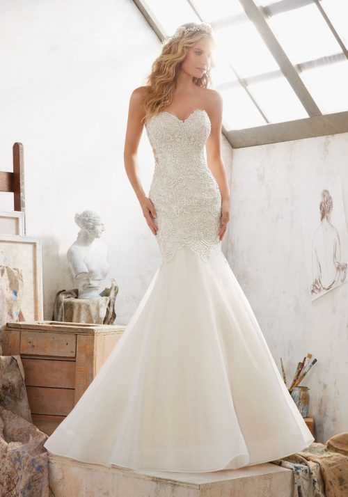 Mori lee 8120 Margot wedding dress