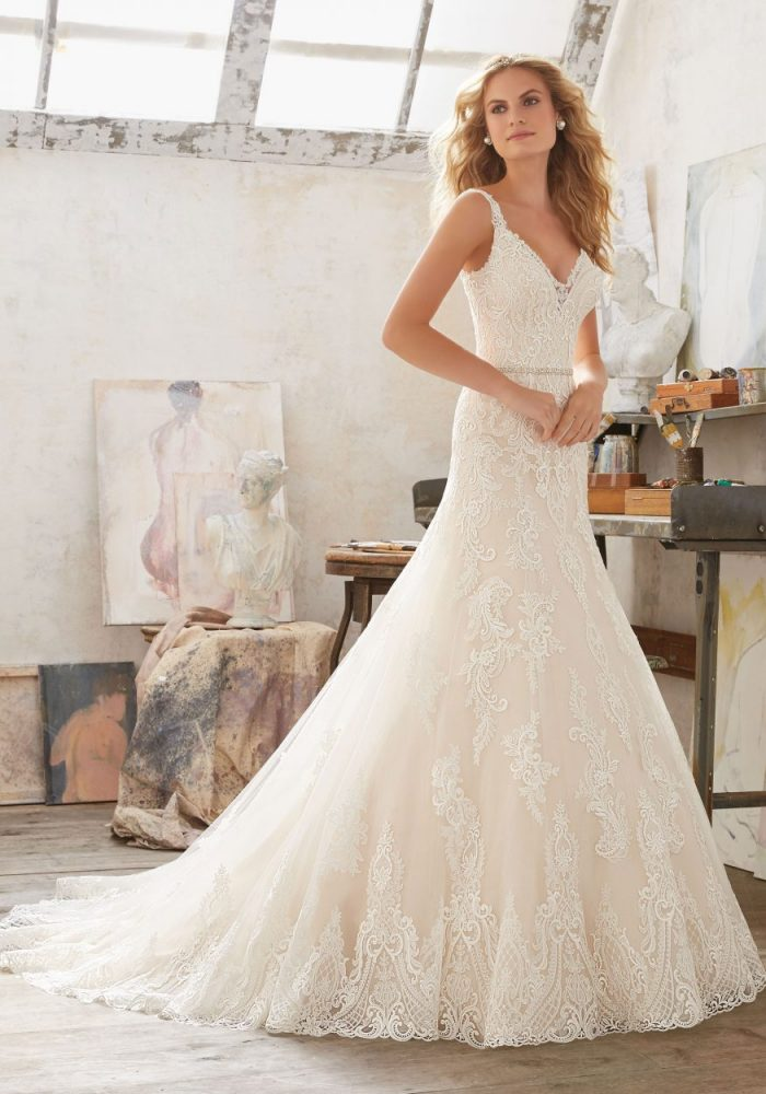 Mori lee 8122 Mariana wedding dress