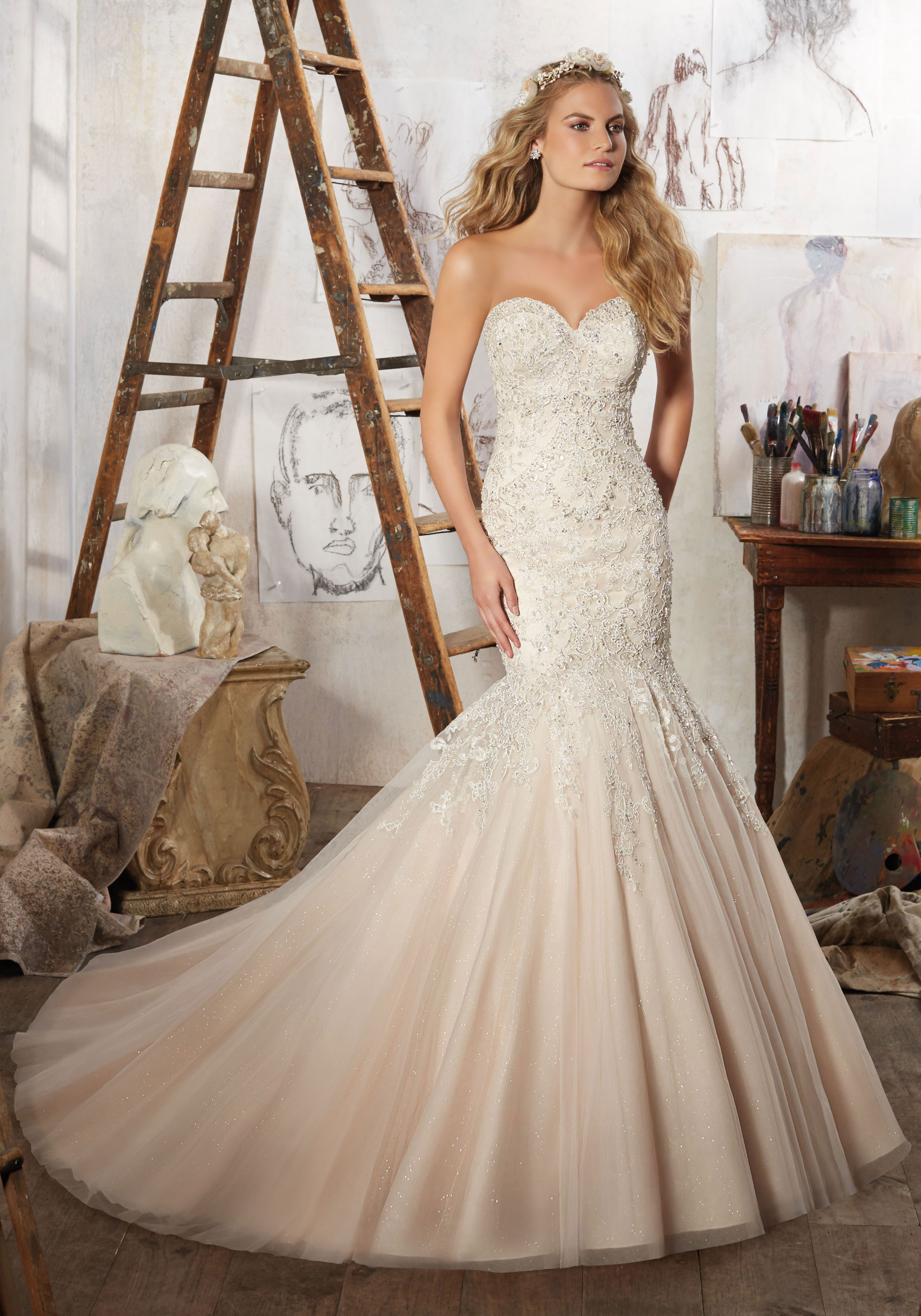 13c94959ed69c Mori lee 8125 Mariela wedding dress - Catrinas Bridal