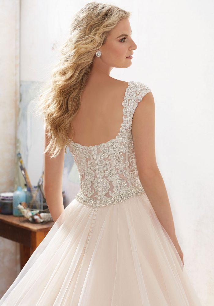 Mori lee 8126 Marigold wedding dress