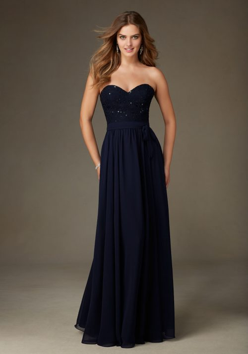 Mori lee 128 bridesmaid dress