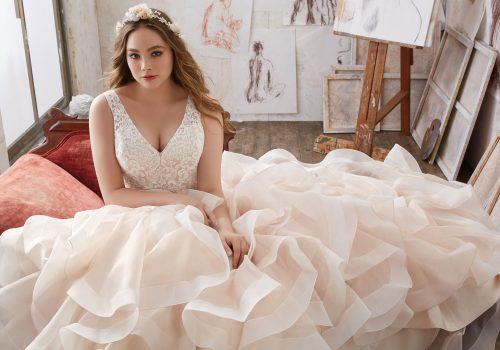 Mori lee 3216 Mildred wedding dress