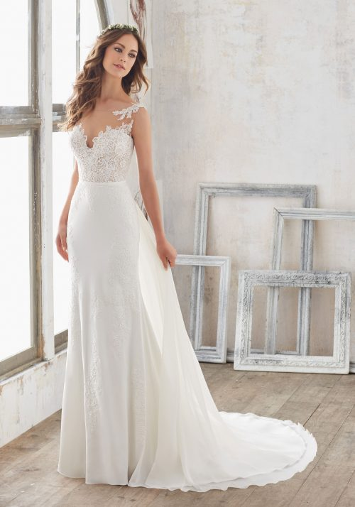 Mori lee 5503 Marisol wedding dress