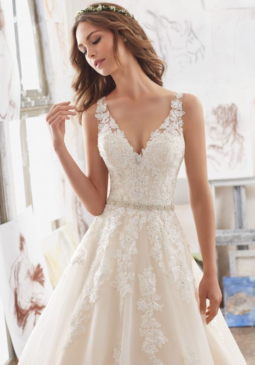 Mori lee 5510 Martina wedding dress