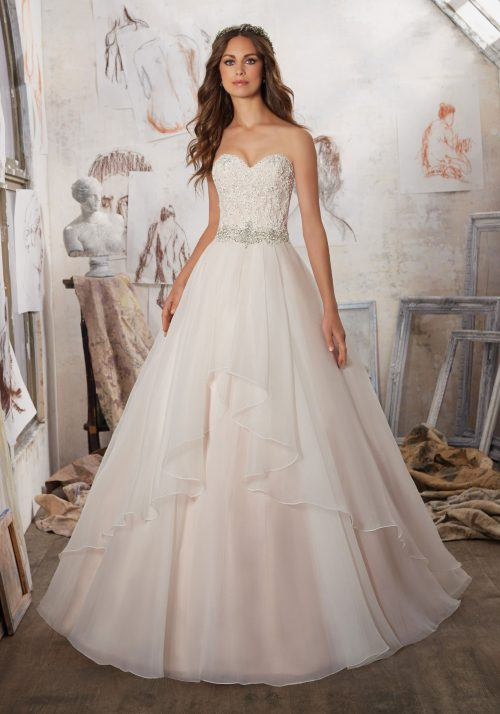 Mori lee 5511 Marvella wedding dress