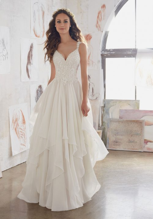 Mori lee 5512 Mary wedding dress