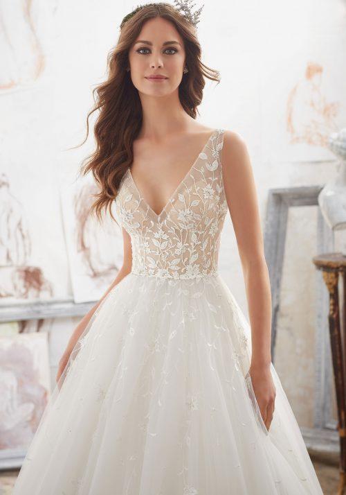Mori lee 5515 Matilda wedding dress