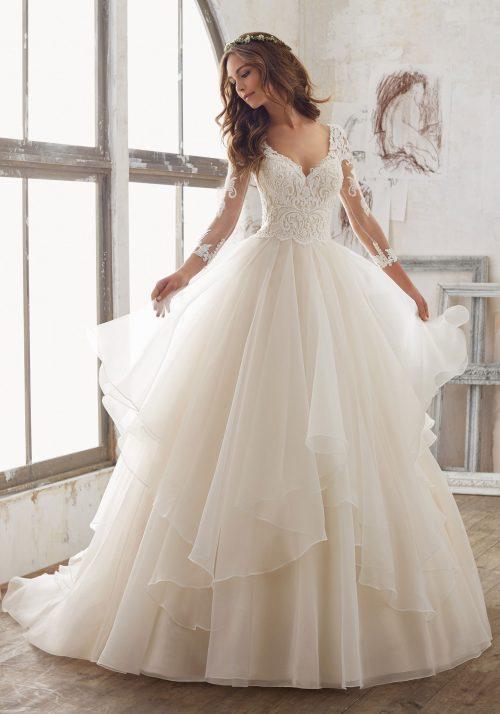 Mori lee 5517 Maya wedding dress
