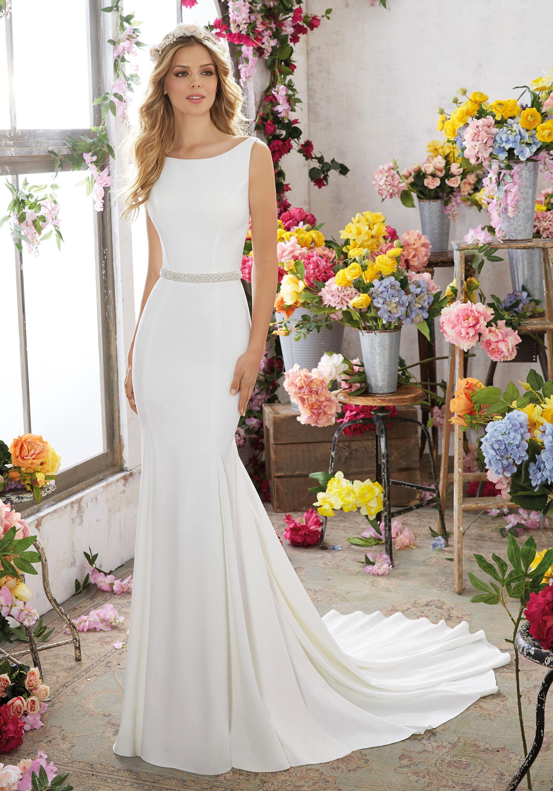 Mori Lee 6857 Melissa Wedding Dress Catrinas Bridal