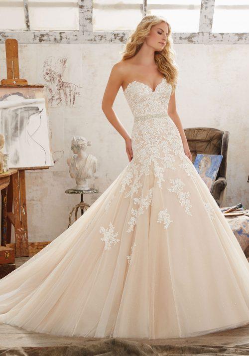 Mori lee 8101 Mackenzie wedding dress