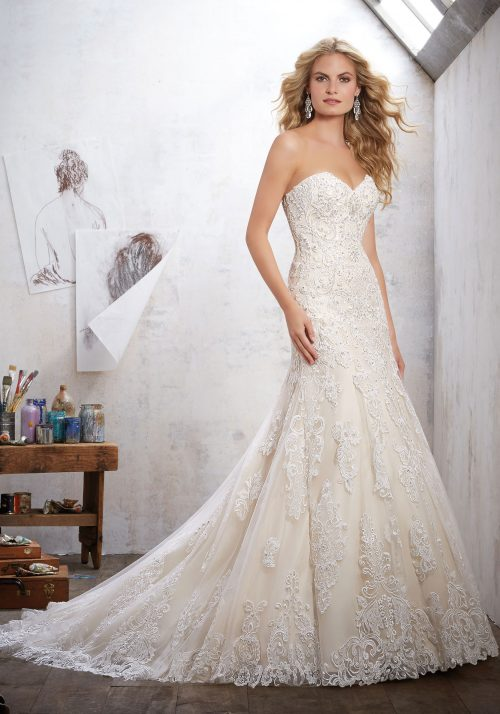 Mori lee 8102 Mackinley wedding dress