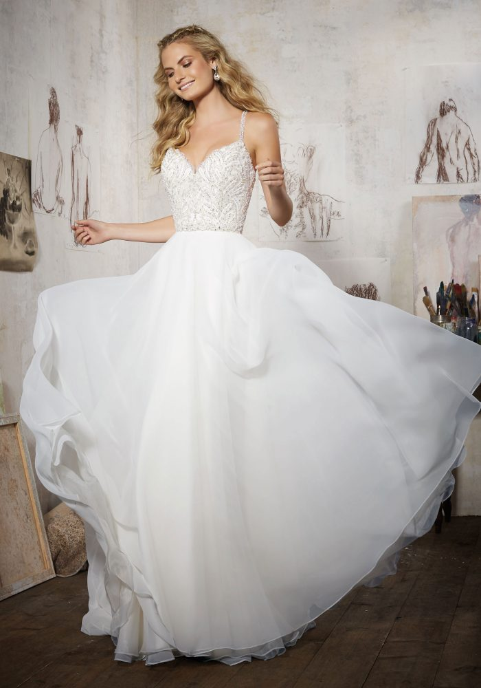 ori lee 8106 Maelani wedding dress