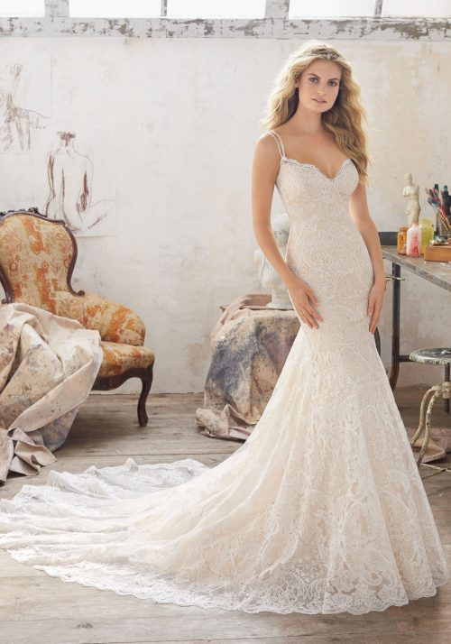 Mori lee 8112 Malia wedding dress