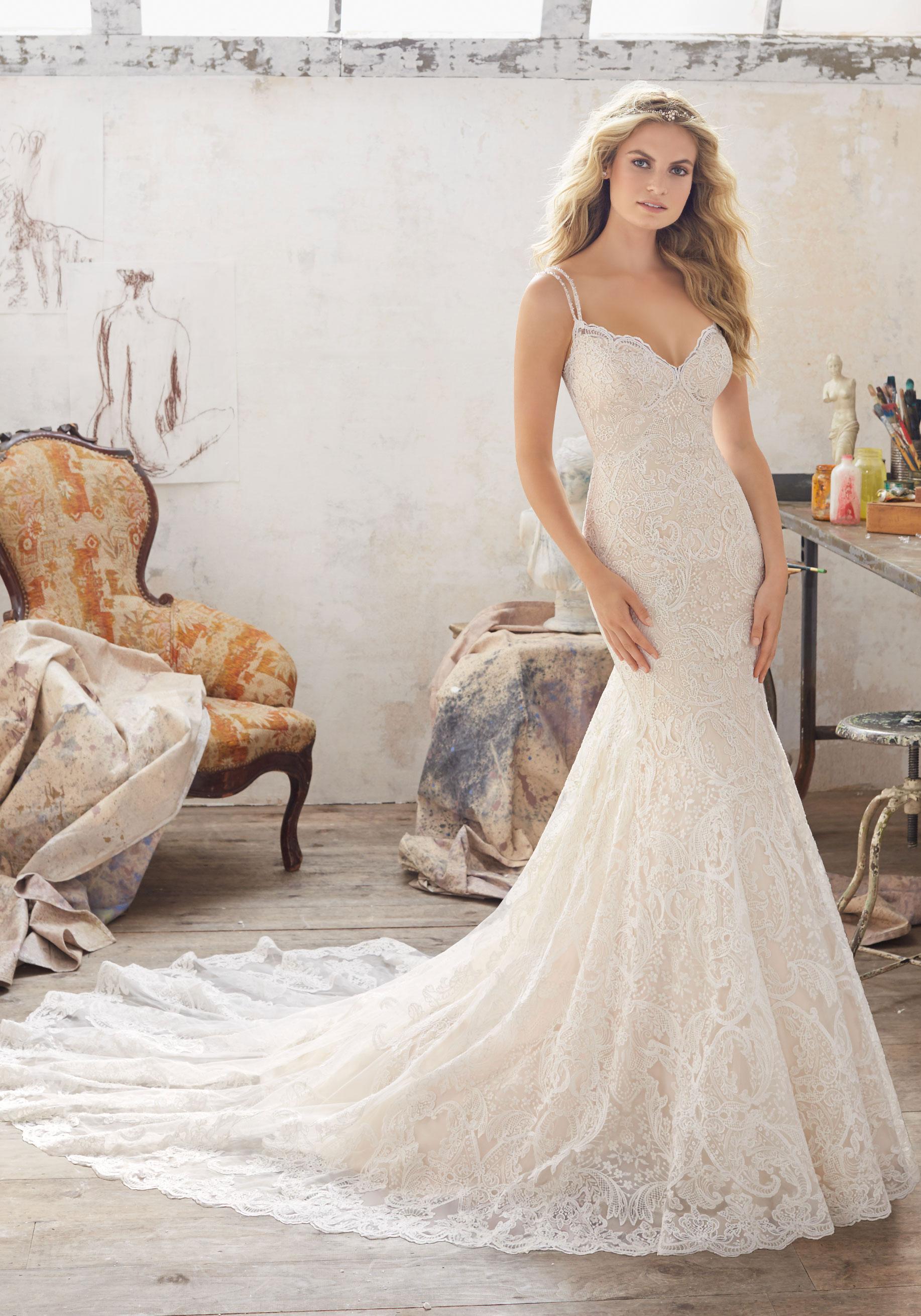 Mori lee 8112 Malia wedding dress - Catrinas Bridal