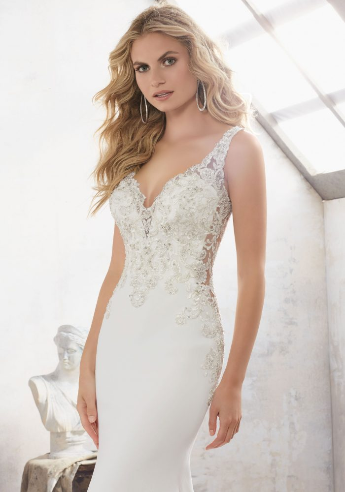 Mori lee 8113 Mallory wedding dress