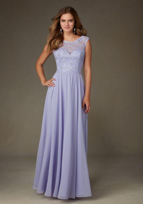 Mori lee 125 bridesmaid dress
