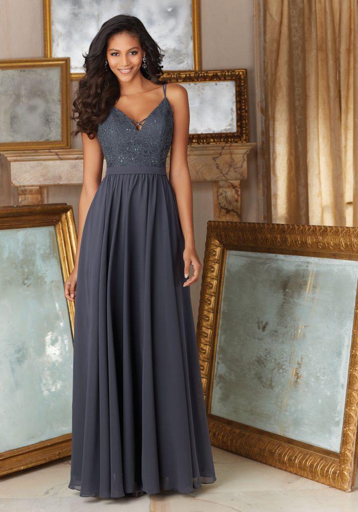 Mori lee 146 bridesmaid dress