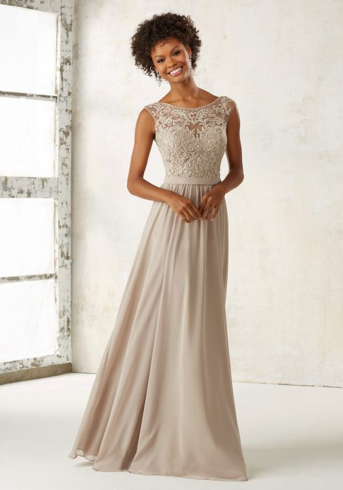 Mori lee 21522 bridesmaid dress