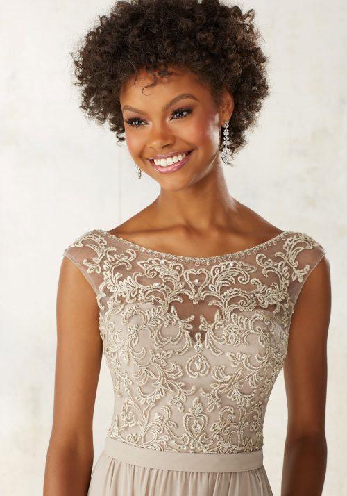 Mori lee 21522 bridesmaid dress