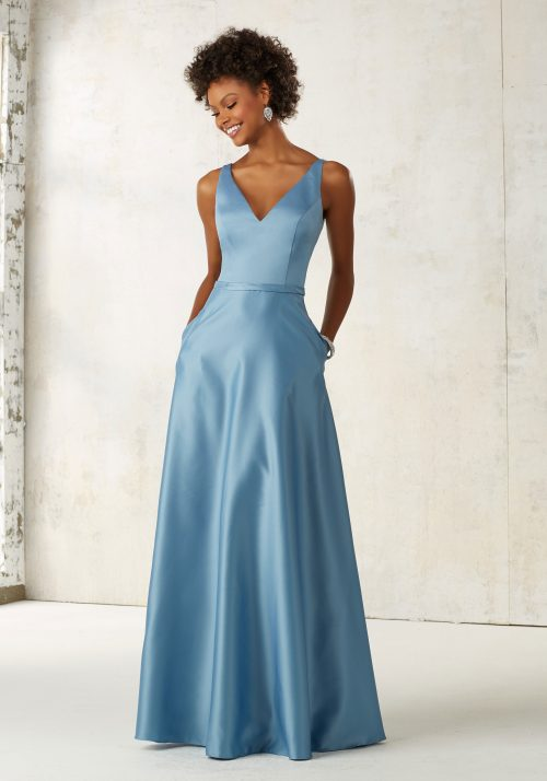 Mori lee 21525 bridesmaid dress