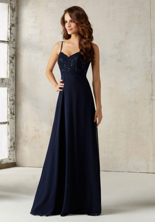 Mori lee 21526 bridesmaid dress