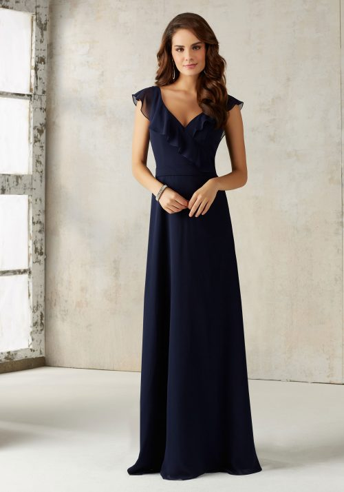 Mori lee 21527 bridesmaid dress