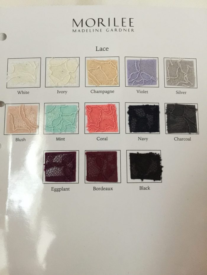 Solid Lace Colours