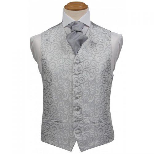 Balmoral Silver Waistcoat
